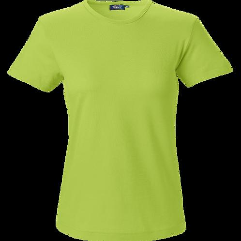 Lime grøn Venice slimfit dame t-shirt 2 stk.