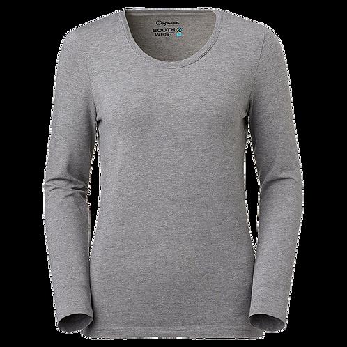 Fairtrade,  grå meleret t-shirt i økologisk bomuld