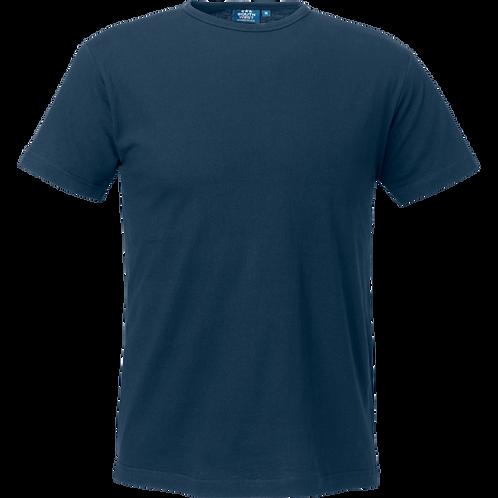 Marine blå Delray slimfit herre t-shirt, 2 stk.