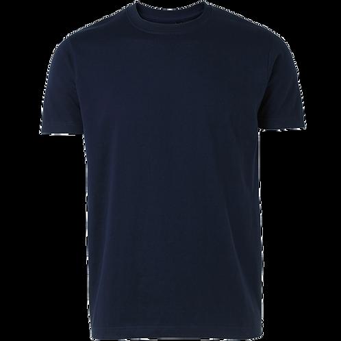 Billig Basi t-shirt i marine blå. Pakke med 6 stk