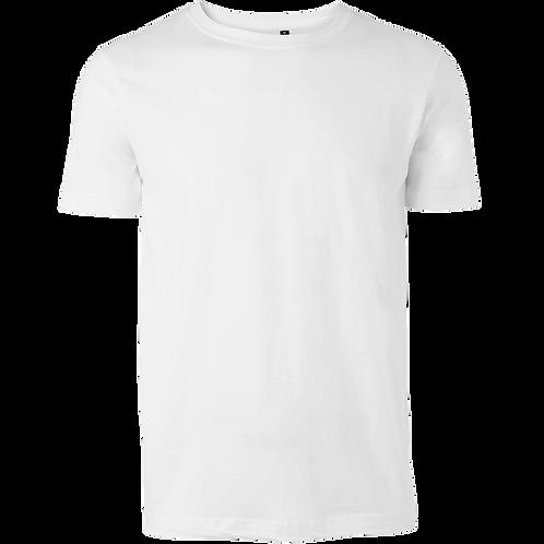 Billig Basis t-shirt i hvid. Pakke med 6 stk.