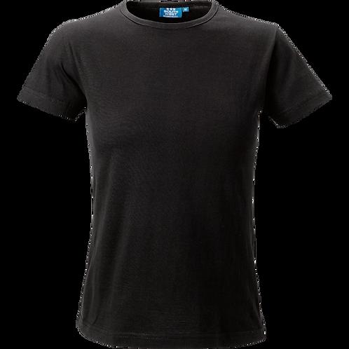 Sort Venice t-shirt til damer slimfit 2 stk.