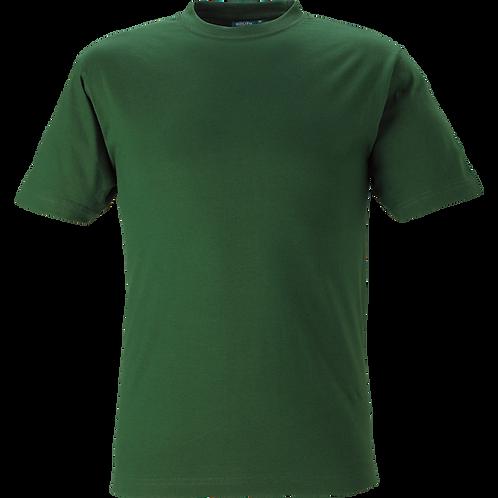 Flaskegrøn Kings basic t-shirt