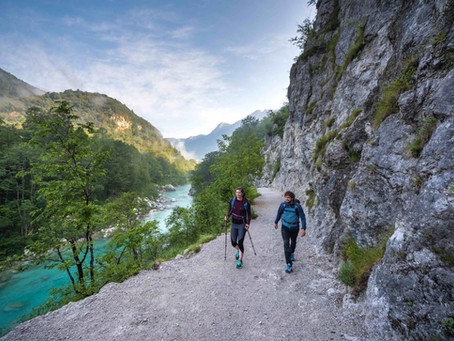 Hikers take to Slovenia to experience The Julian Alps & the Juliana Trail