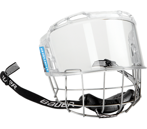 Маска визор BAUER HYBRID SHIELD SR