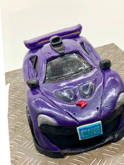 Sports Car 3D cake