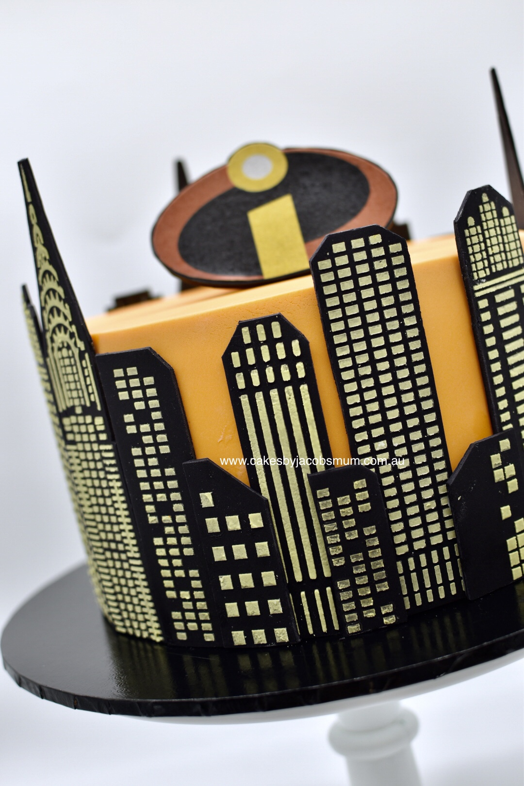 The Incredibles Birthday Cake