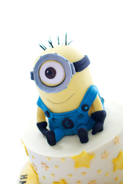 Minion Stuart Birthday Cake