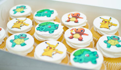 Pokemon Cupcakes pikachu charmander