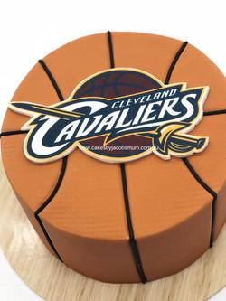 Basketball Cleveland Cavs cake