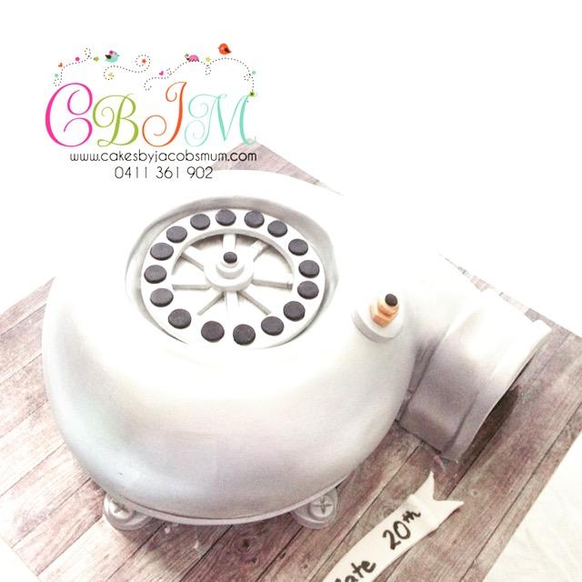 Car Engine cake