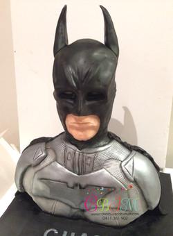 3D Batman Bust Cake