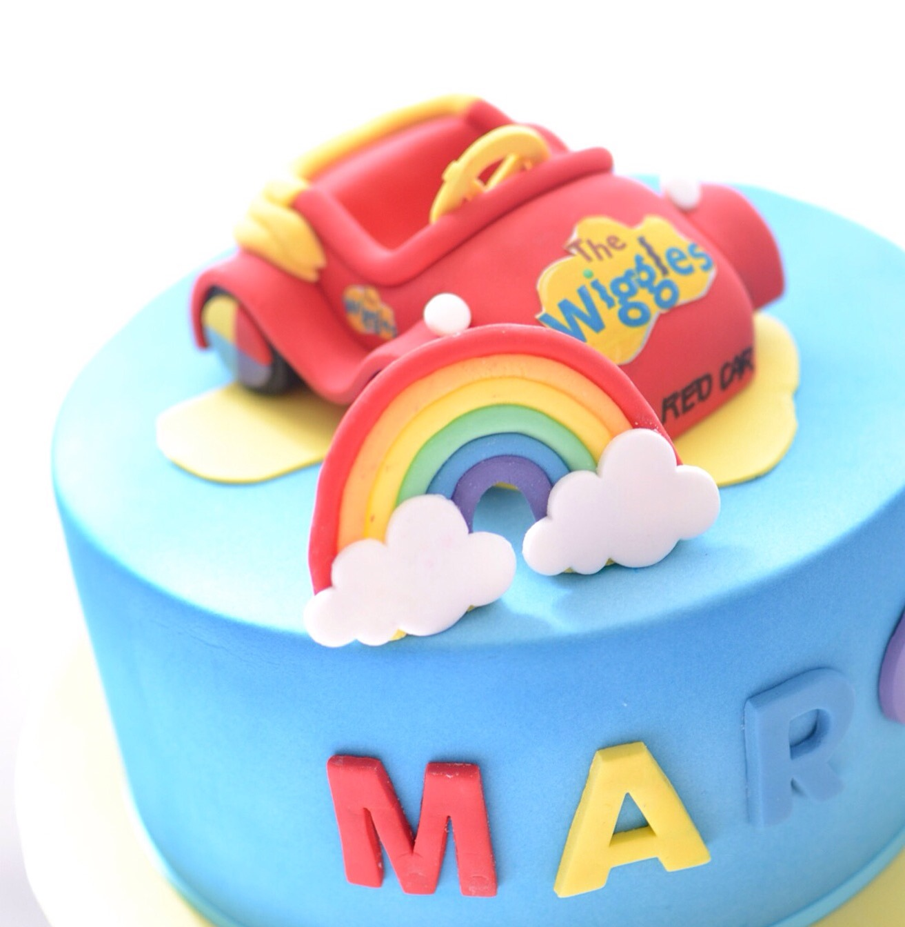 Wiggles Big Red CaBirthday Cake