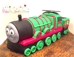 Henry from Thomas the Tank cake