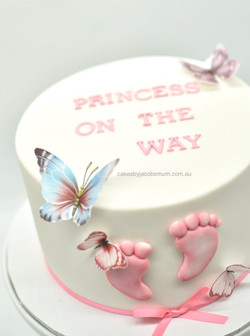 baby girl boy shower gender reveal celeb