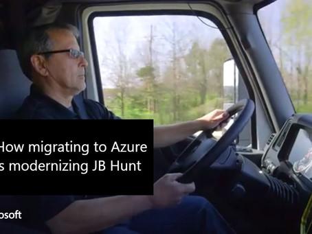 How migrating to Azure is modernizing JB Hunt