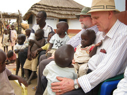 John Fryters With African Children