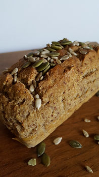 Spice and seed grain free bread