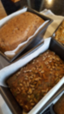 Grain free bread made at home