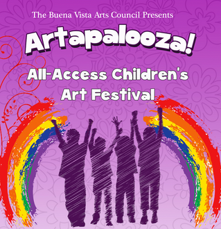 RECAP: Artapalooza!  A free, all-access children's art festival!
