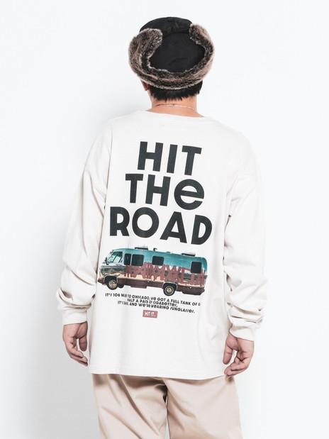 HIT THE ROAD HEAVY Oz. L/S tee