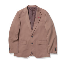 SINGLE-BREASTED JACKET-Beige