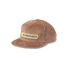 CORDUROY CAP-BE PREPARED