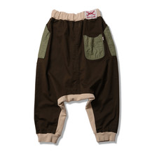 APACHE-Stretch Cotton Sarrouel Pants