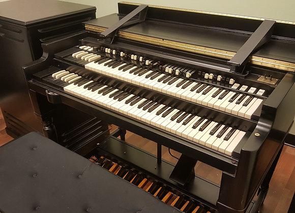 Custom Black Hammond B3 and Leslie Speaker