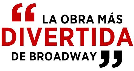 La obra má divertida de Broadway