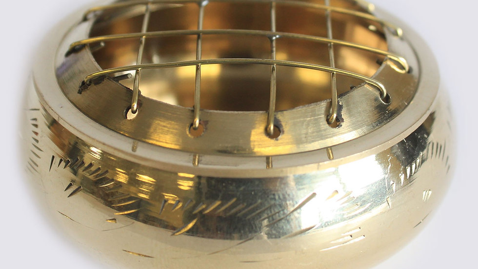 Charcoal Incense Jar