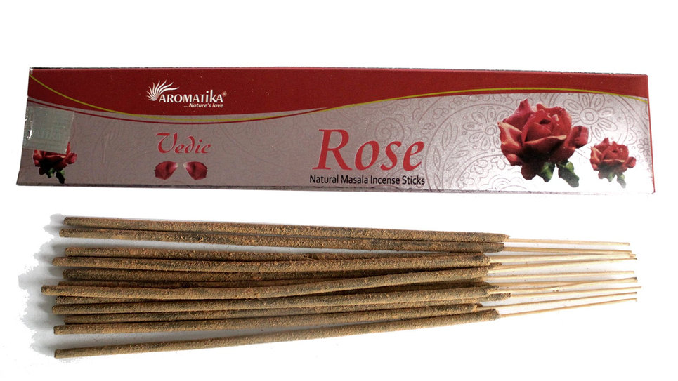 Vedic -Incense Sticks - Rose