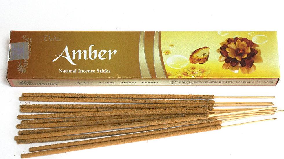 Vedic - Incense Sticks - Amber