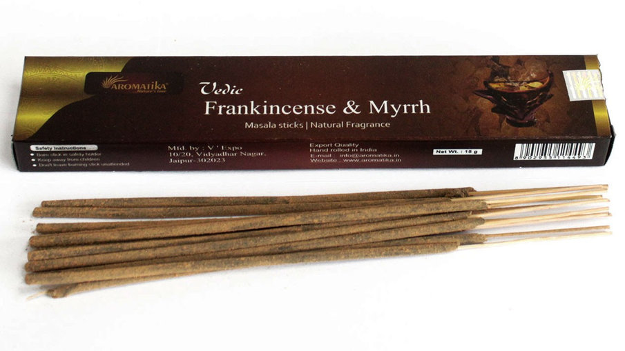 Vedic -Incense Sticks - Frank & Myrrh