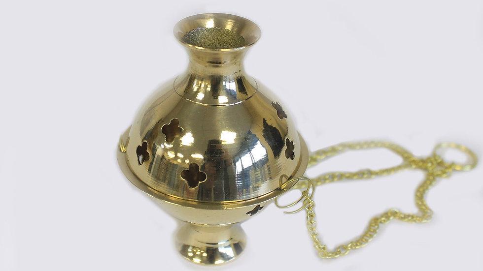 Hanging Brass Incense Burner