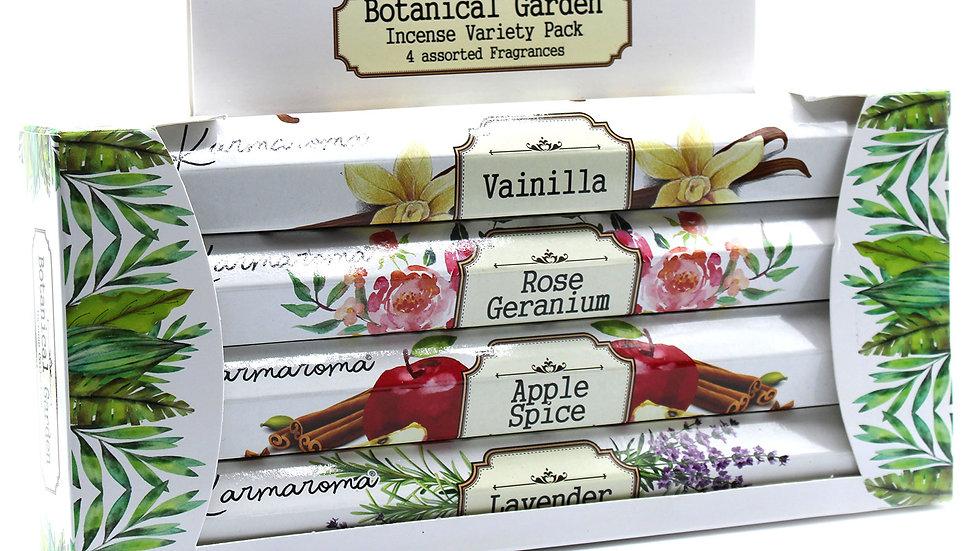 Botanical Garden Incense Gift Set  - 4 Assorted Fragrances
