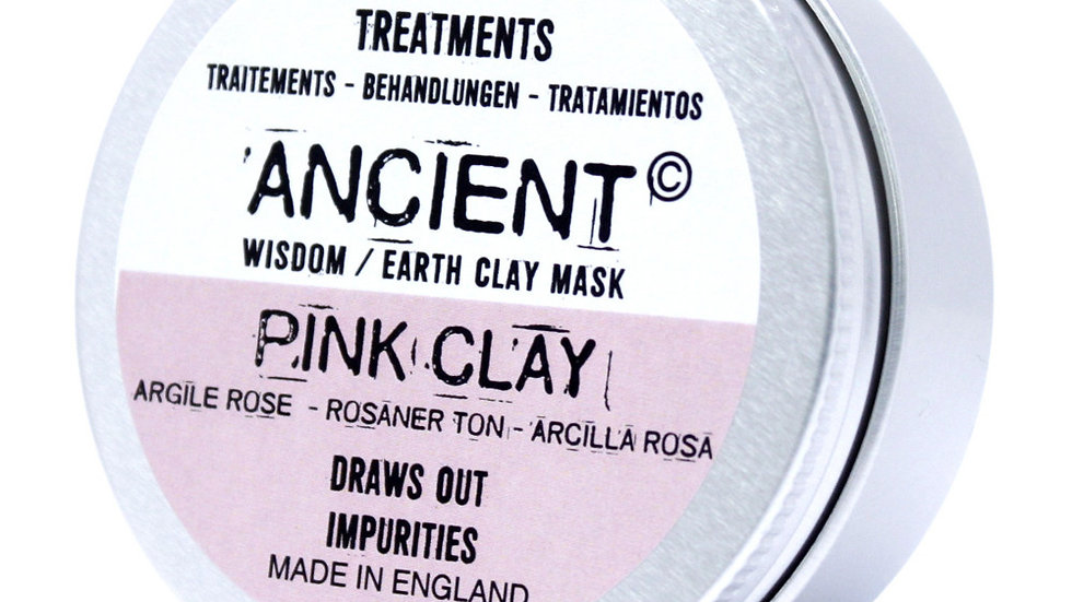 Pink Clay Face Mask 50g