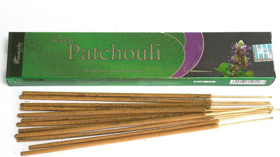 Vedic - Incense Sticks - Patchouli