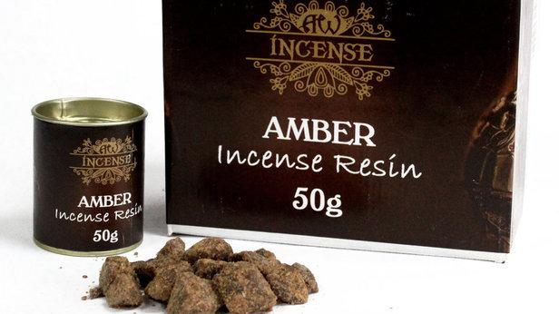 50gm Amber Resin