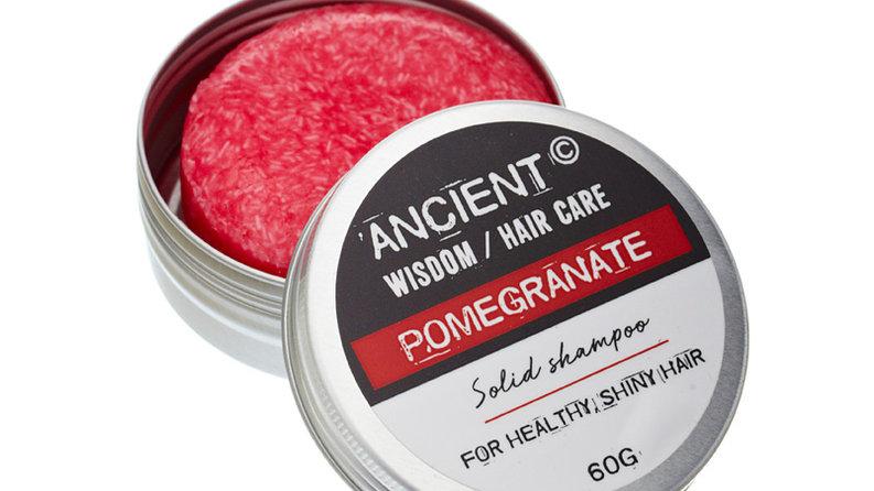 Solid Shampoo Bar 60g - Crazy Pomegranate
