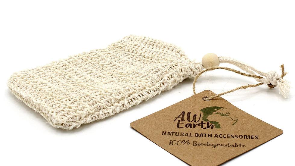 Nature Soap Bag - Washed Jute