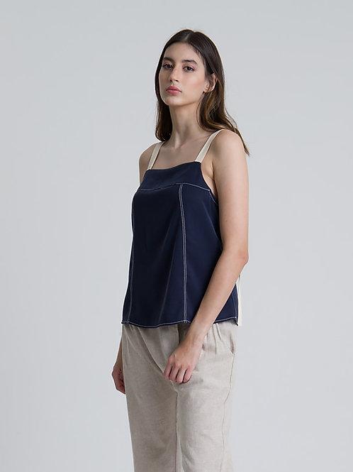 Blusa Thane Azul Marinho
