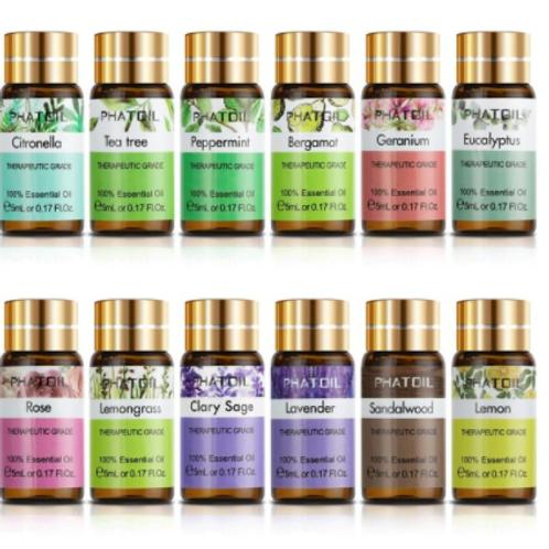 Pure Natural Aroma Essential Oils 12pcs