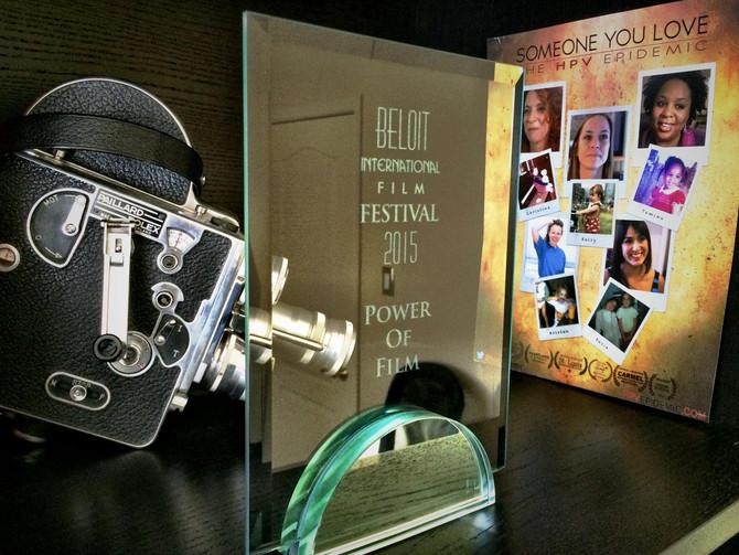 "Someone You Love Wins ""Power of Film Award"" from The Beloit International Film Festival!"