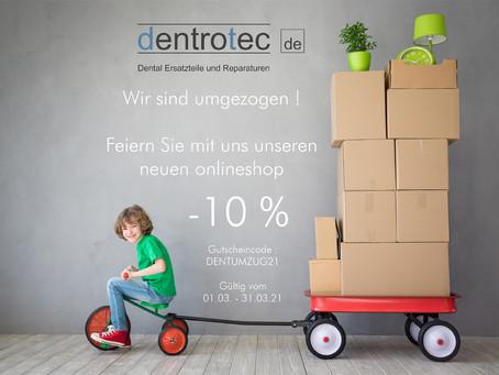 dentrotec.de - Aktionsgutschein Verlängert bis 31.05.2021