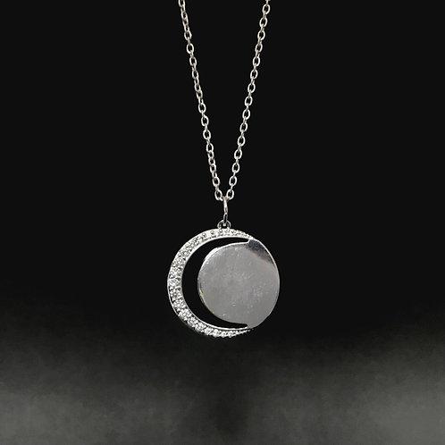Colar Lua Crescente