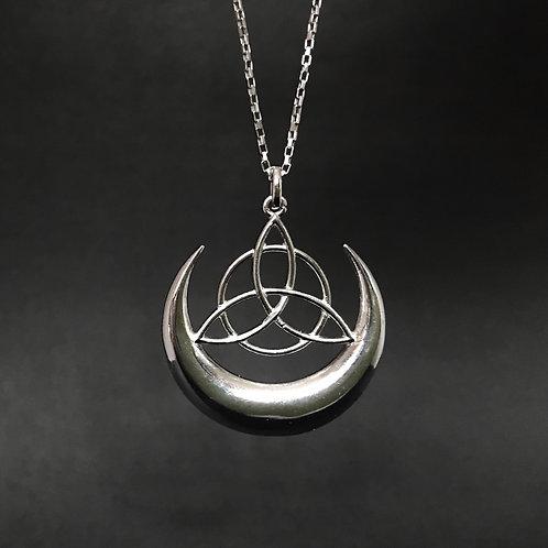 Pingente Triquetra Lua