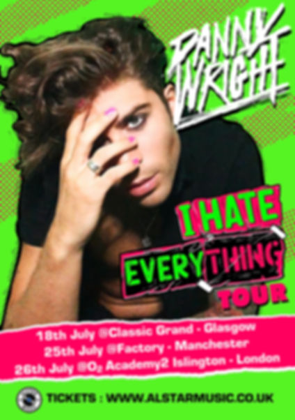 I Hate Everything Poster A5 Green.jpg