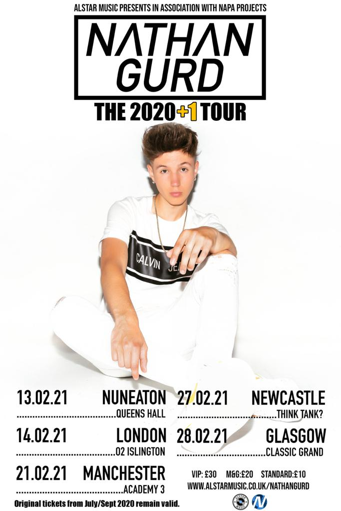 Nathan Gurd - The 2020+1 Tour