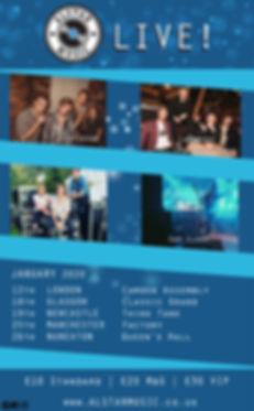 Alstar Showcase - January (Bands - Updat